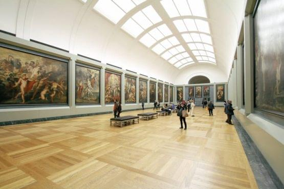 Louvre Museum in France