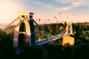 The Clifton Suspension Bridge